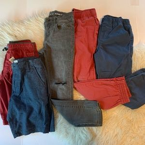 Kids size 7 joggers and more bundle